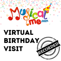 Virtual Birthday Visit - Recorded